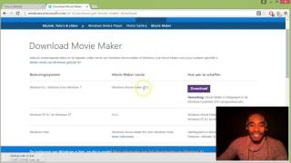 Downloaden en installeren moviemaker