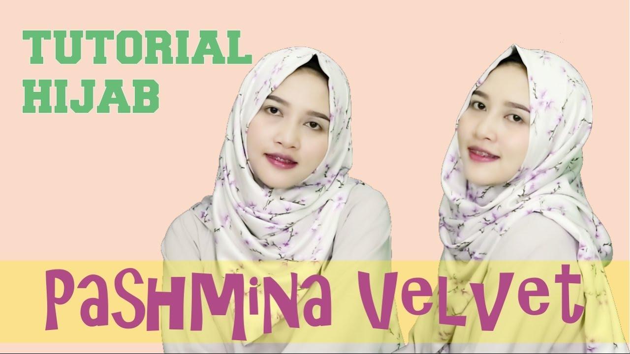 Tutorial Hijab Pashmina Velvet Hijab Simple Untuk Sehari Hari