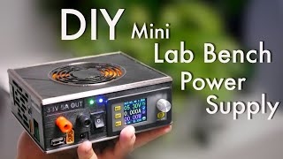 Обложка DIY Mini Lab Bench Power Supply With Switchable DC And AC Input