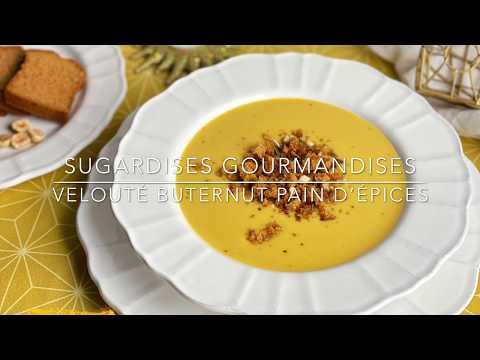 recette-:-veloute-de-butternut-aux-pains-d'épices