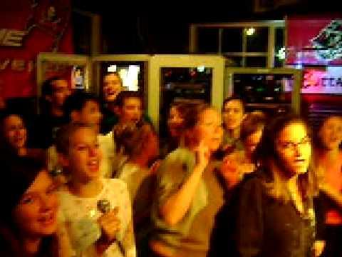 Don't Stop Believin' Karaoke grand finale at  Mugs on Missouri