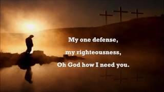 Lord I need You (Karaoke)