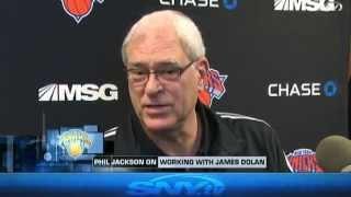 Phil Jackson talks about James Dolan