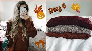 Vlogtober Day 6 // Mini Fall Try On Haul!