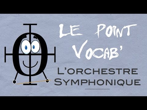 Le Point Vocab 6 : L'ORCHESTRE SYMPHONIQUE