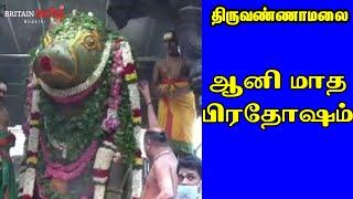 Pradosham   பிரதோஷ தின தரிசனம் ….!!   ஆனி மாதபிரதோஷம்   Britian Tamil Bhakthi   Annamalaiyar