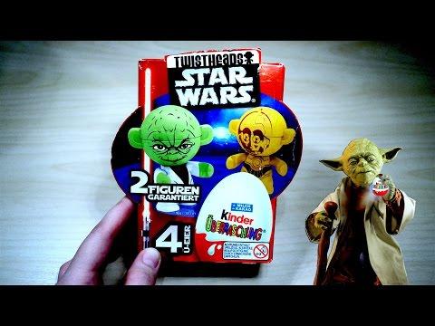 Звездные войны Киндер Сюрприз на русском языке Star Wars Kinder Surprise