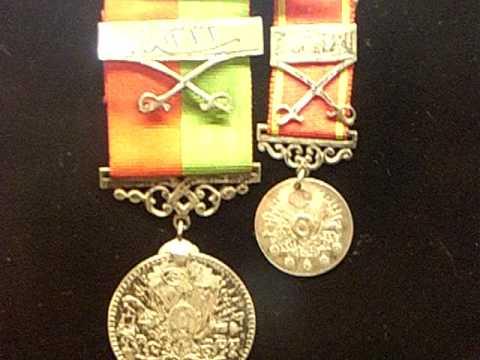 """WWI Aviator """"Red Baron"""" Rittmeister Manfred von Richthofen  Medals"""