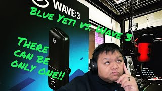 Just Chatting! I'm talking Elgato Wave 3, Blue Yeti and possible replacements