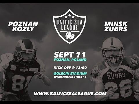 Kozły Poznań - Zubrs Mińsk / Baltic Sea League [11.09.2016]