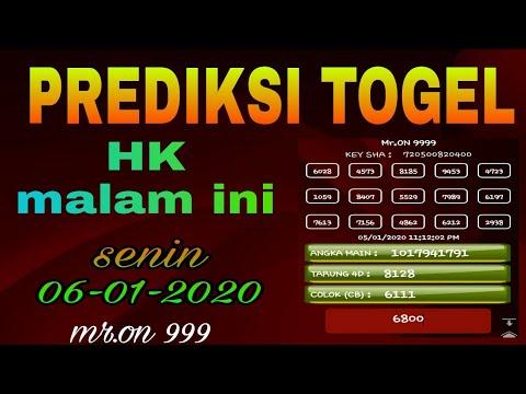 Prediksi Togel HK pool senin 06/01/2020 | Rumus Harian