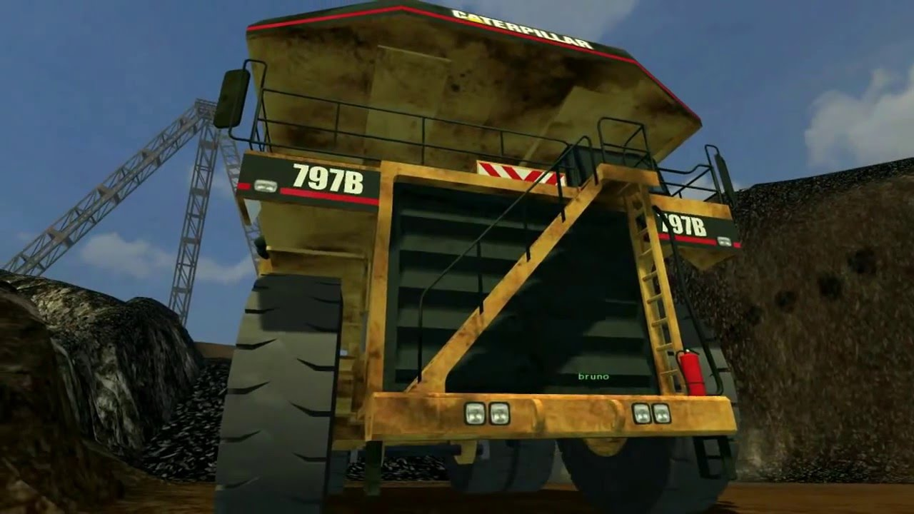 farming simulator 2013 mining carry mine a ciel ouvert by bzhmodding youtube. Black Bedroom Furniture Sets. Home Design Ideas