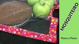 Como fazer Mosquiteiro cobre alimentos – Passo a Passo