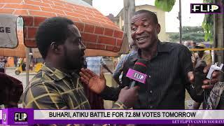BUHARI, ATIKU BATTLE FOR 72.8M VOTES TOMORROW