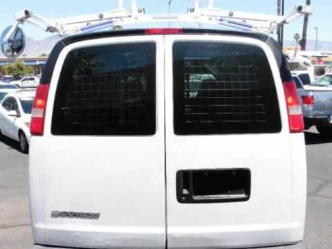 2007 Chevrolet Express Cargo Van RWD 2500 LADDER RACK SHELVES Tucson Arizona