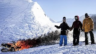 ISENSEVEN X Stolen Paradise | SNOWBOARD Mini Documentary | Alaskan Holiday