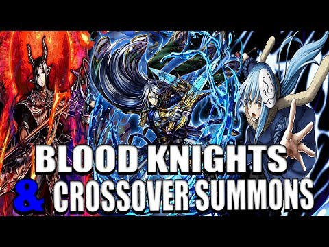 Grand Summoners Blood Knights & Crossover summons - I Summoned Weaver? |