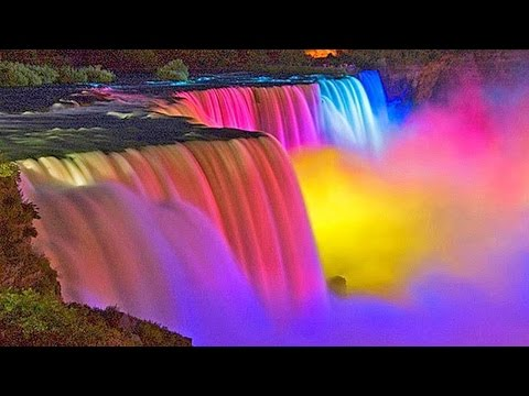 The Amazing Niagara Falls at Night