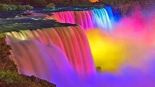 The Amazing Niagara Falls at Night