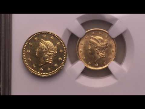 Suspected Counterfeit 1853 Type 1 Gold Dollar. An EBAY Purchase From Germany. Am I Right?