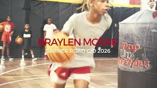 Braylen McRae Highlights (PG, Class of 2026) Garner Road, Coach Myatt. Raleigh, NC.