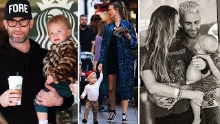 Adam Levine & Behati Prinsloo's Daughter - 2018 (Dusty Rose Levine)