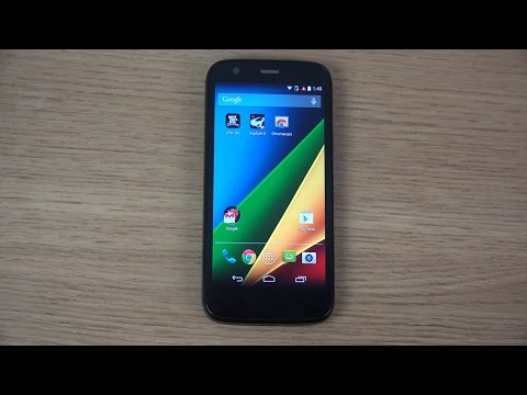 Motorola Moto G 4G LTE - Android 4.4.4 KitKat Update Review