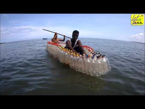 MADIBA&NATURE Ecologic boat test at Londji Beach Kribi Cameroon