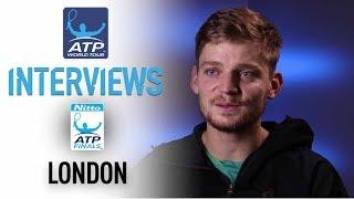 Video Goffin Discusses Federer Upset At Nitto ATP Finals 2017 download MP3, 3GP, MP4, WEBM, AVI, FLV November 2017