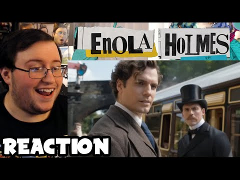 "Gor's ""Enola Holmes"" Official Trailer REACTION"