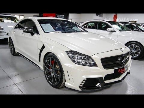 Mercedes Benz Cls 63 Amg Wald Black Bison Body Kit Youtube