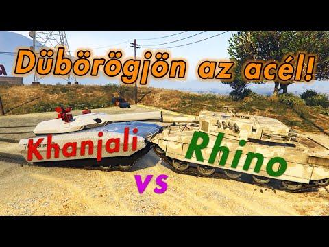 ⚔️ Rhino vs Khanjali ⚔️ Melyik a jobb Tank? | Titánok Harca