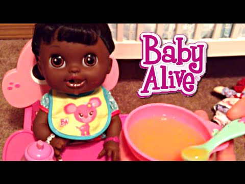 Baby Alive Real Surprises Doll Morning Routine With Violet