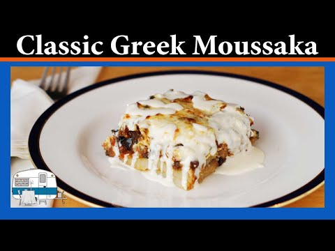How I prepare Moussaka