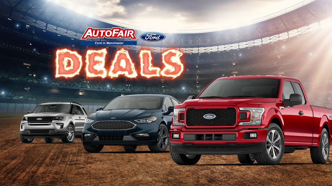 Autofair Ford Manchester >> New 2019 Ford F-150 Lease - April 2019 - YouTube