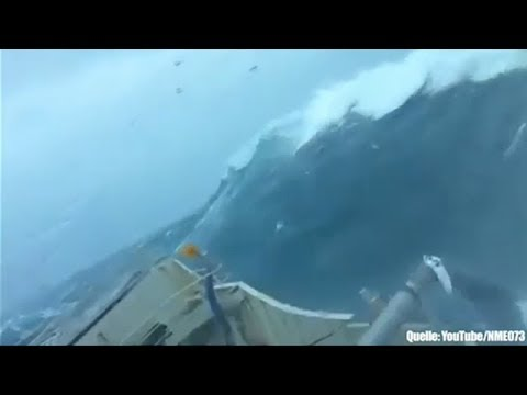 Die heftigsten Stürme auf AIDA Schiffen
