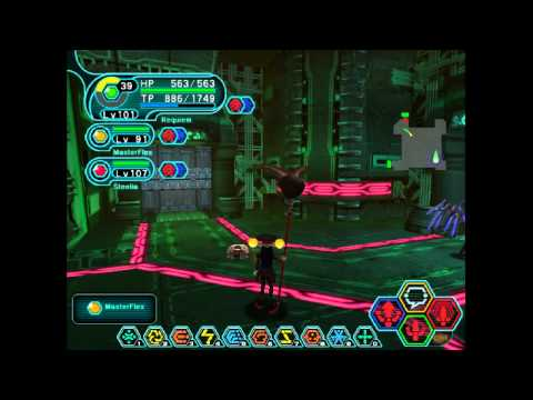Phantasy Star Online - Mines Ultimate