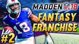 EXPLOSIVE PLAYS & KEY INJURIES | Madden NFL 18 Fantasy Draft Franchise Ep.2
