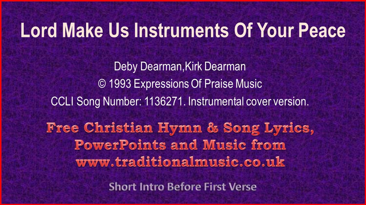 lord-make-us-instruments-of-your-peace-hymn-lyrics-music-rod-smith