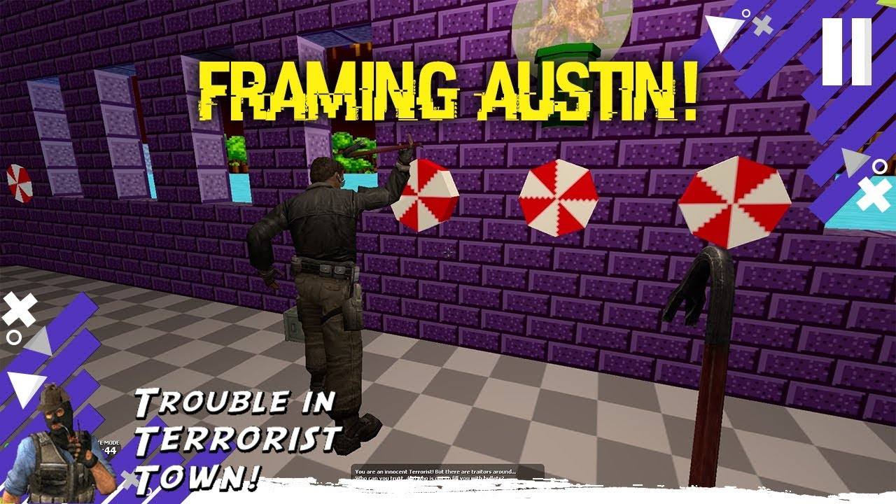 Framing Austin (GMOD Trouble In Terrorist Town) - YouTube