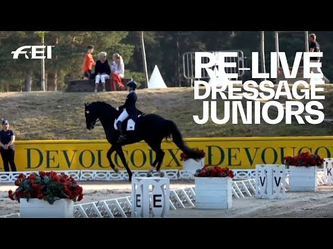 RE-LIVE | Dressage (J Individual Part 2) | FEI European Championships CH / J / YR