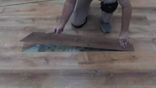 How To Replace Click-Lock Vinyl Flooring