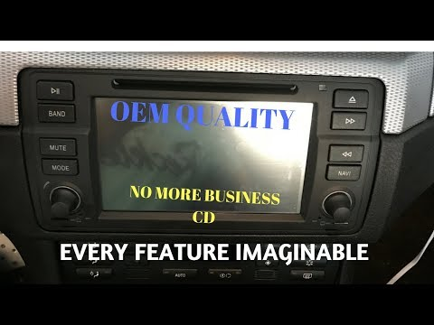 You NEED this radio if you own a BMW E46!