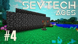 MOJA CHATKA WKRACZA W NOWĄ ERĘ!  - Minecraft - SevTechAges #4 [PL/HD]