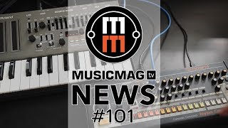 MUSICMAG TV NEWS #101: Waldorf Kyra, Shrolca, робо-сортировщик сэмплов и др.