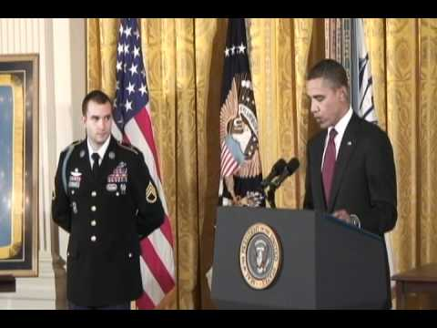 Medal of Honor Ceremony for Staff Sgt. Salvatore Giunta