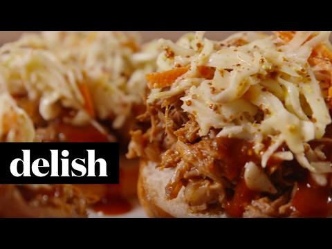 Slow-Cooker Pulled Pork | Delish