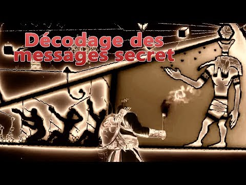 Décodage des messages secrets dans assassin's creed origins