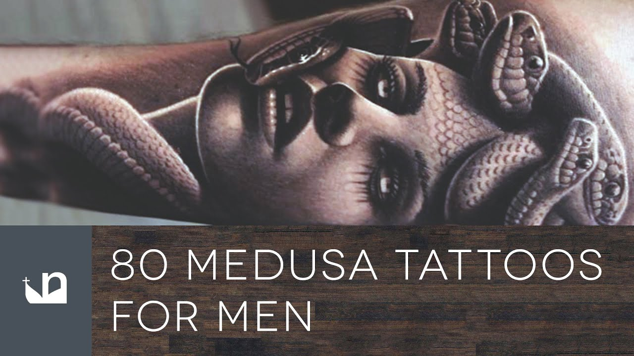 Medusa Artwork Tattoo: 80 Medusa Tattoos For Men
