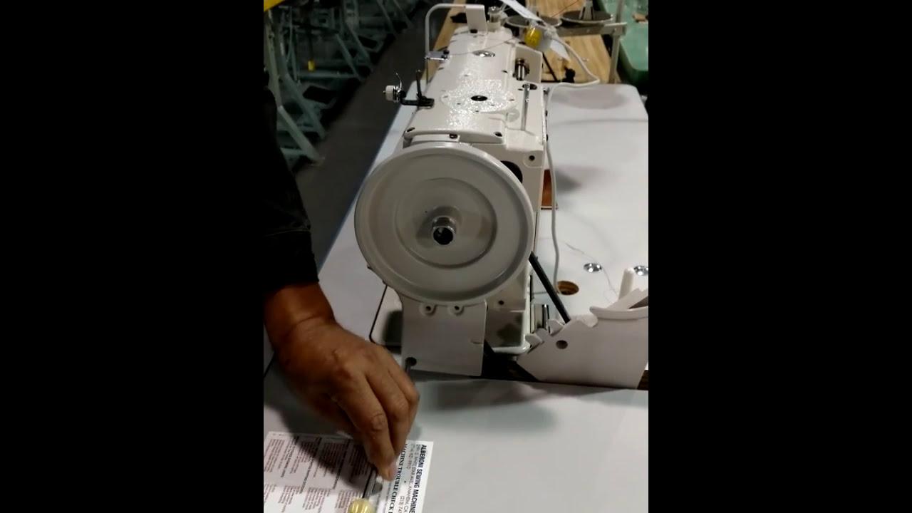 Upholstery Sewing Machine >> Juki Belt Guard Installation - YouTube